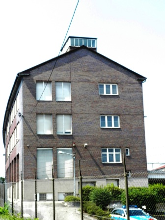 Ostflügel des ehemaligen Kugellagerwerkes der SKF/Norma.