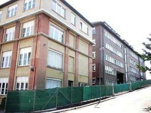Das Areal der ehemaligen Kugellagerfabrik wird heute komplett von der Polizei genutzt.